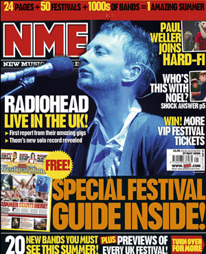 NME Cover - 24.05