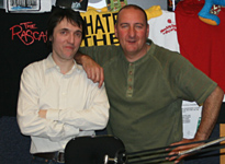 Colin y Marc Riley