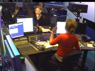 Thom y Ed en la BBC