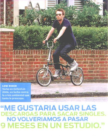 Thom en bicicleta