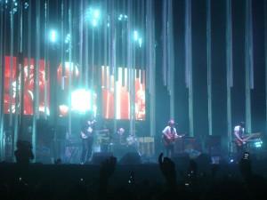 Radiohead en el Club Ciudad de Buenos Aires