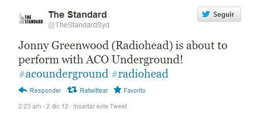 TheStandardSyd @ Twitter