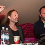 Thom & Nigel en Glastonbury + Colin junto a Adam Buxton
