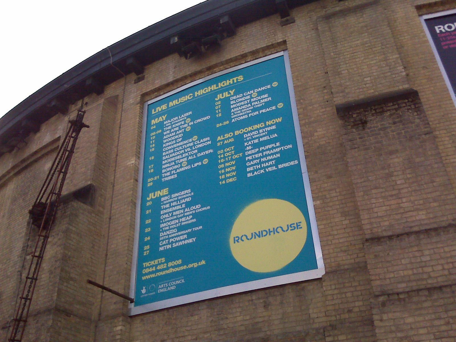 Gira AFP: The Roundhouse, Londres (día 2)