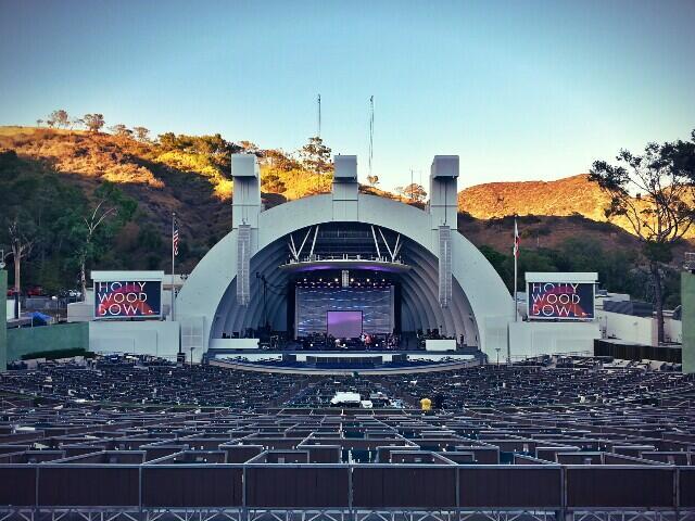 Gira AFP: Hollywood Bowl, Los Angeles