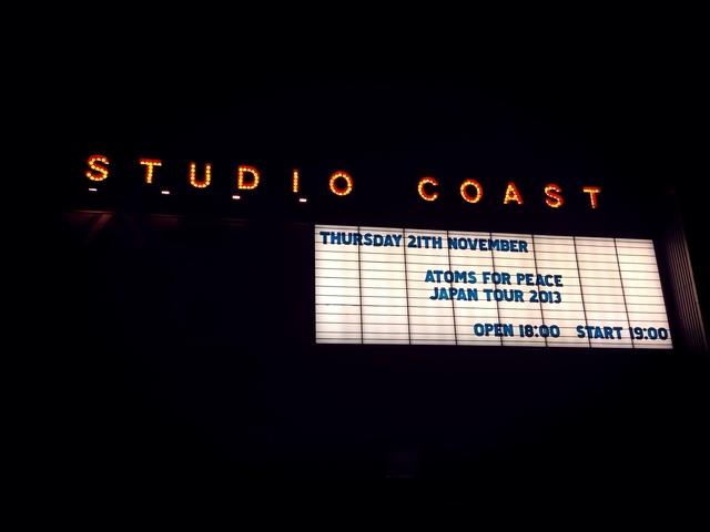 Gira AFP: Studio Coast, Tokio (día 1)
