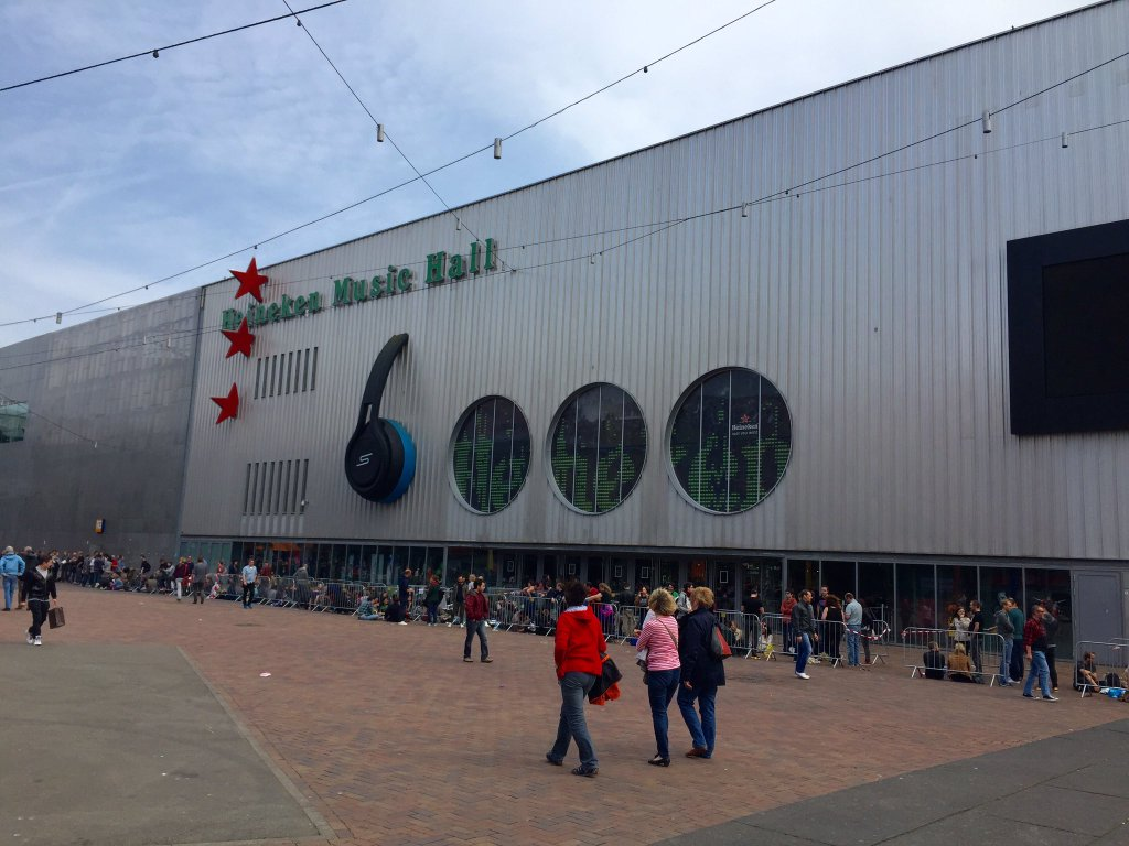 Gira 2016: Heineken Music Hall, Amsterdam (día 2)