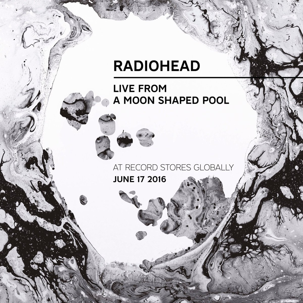 """""""Live from A Moon Shaped Pool"""", evento oficial el próximo viernes 17"""