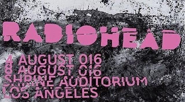 Gira 2016: Shrine Auditorium, Los Ángeles (día 1)