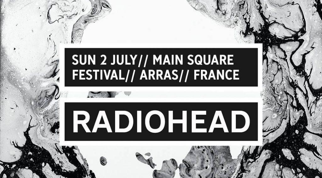 Gira 2017: Festival Main Square, Arras (Francia)