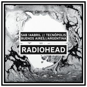 Radiohead en Soundhearts Argentina en calidad profesional