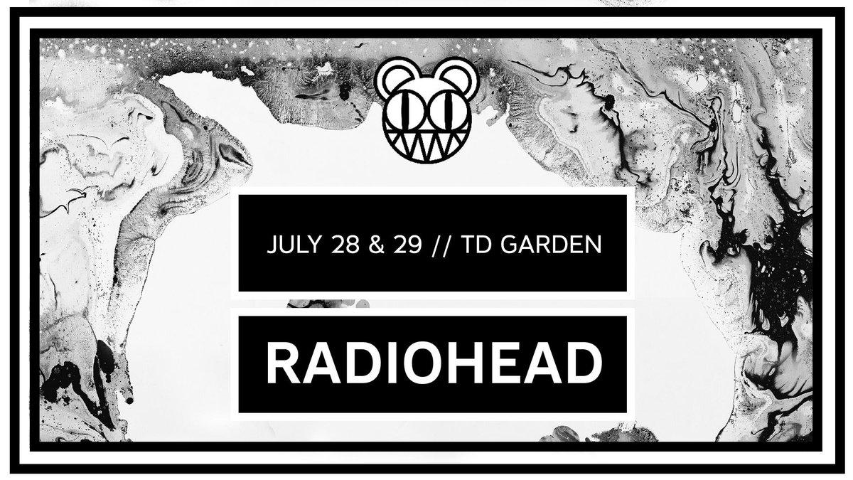 Gira 2018: TD Garden, Boston (dia 1)