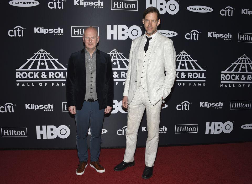 Radiohead es parte del Salón de la Fama del Rock 'n' Roll