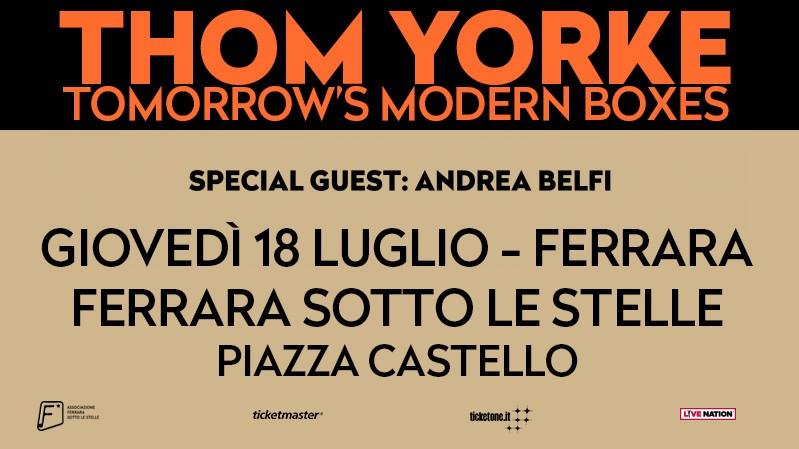 Piazza Castello, Ferrara [Thom Yorke]