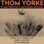 Greek Theatre, Berkeley [Thom Yorke]