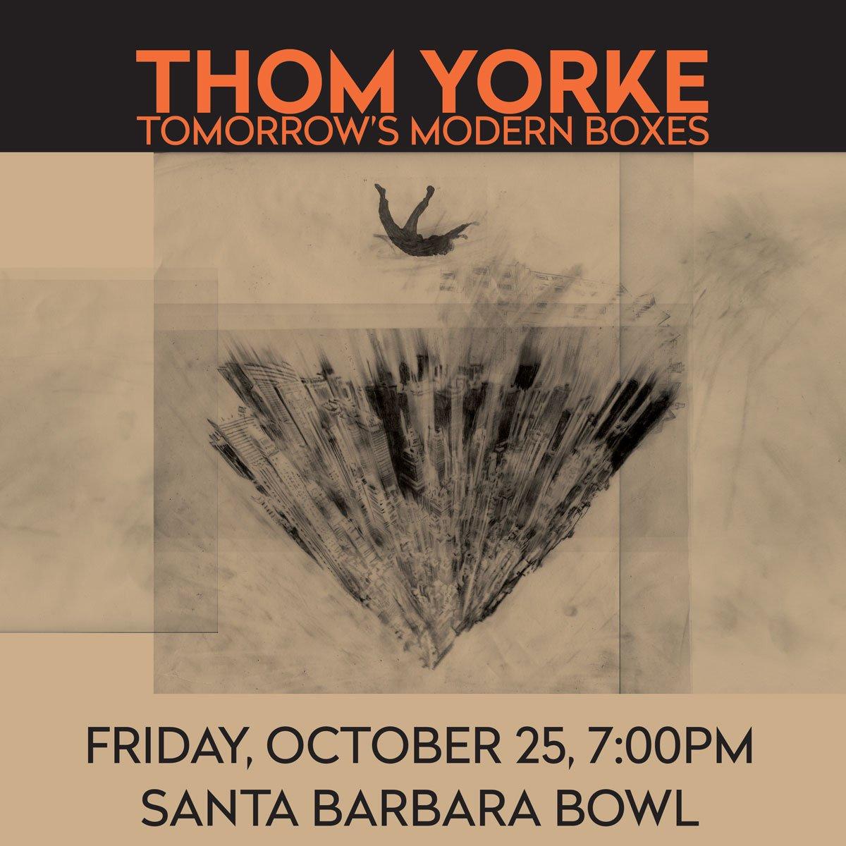 Santa Barbara Bowl, California [Thom Yorke]