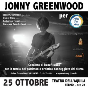 Teatro dell'Aquila, Fermo [Jonny Greenwood]