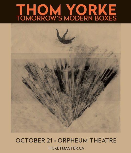 Orpheum Theatre, Vancouver [Thom Yorke]