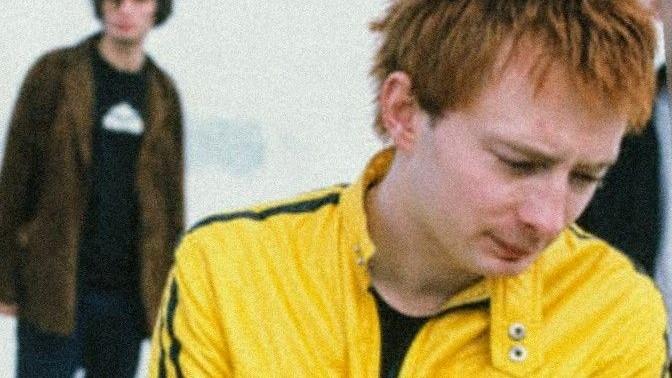 Thom Yorke (c) Kevin Cummins 1995